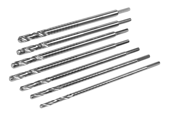 CANNUDRILL Cannulated Tibial Reamers